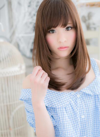 王道♪ラブワンカール(髪型セミロング)