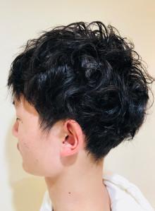メンズくせ毛ニュアンスヘア