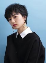コンパクトショート(髪型ショートヘア)