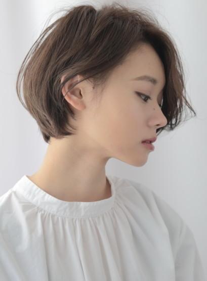 ゆったりハンサムショート(髪型ショートヘア)