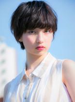 小顔可愛いショート(髪型ショートヘア)