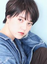 サラッと大人クールなシースルーショート☆(髪型ショートヘア)