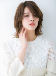 大人かわいい外ハネレイヤー☆(ビューティーナビ)