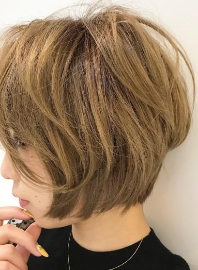 40代大人ショート(髪型ショートヘア)