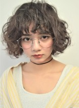 フラッフィーボブ(髪型ボブ)