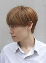 直毛を生かしたメンズマッシュ(髪型メンズ)