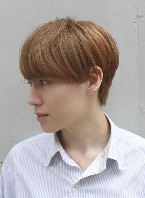 メンズ】直毛を生かしたメンズマッシュ/BEAUTRIUM 南青山の髪型