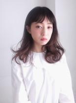 イノセンスカール(髪型セミロング)