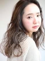 外国人風ロングスタイル(髪型ロング)
