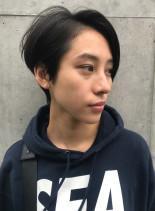 スタイリッシュショートボブ(髪型ショートヘア)
