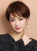 ☆ひし形シルエット☆大人ショートマッシュ(髪型ショートヘア)