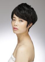 時短スタイル(髪型ショートヘア)