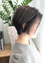 30代・40代◎女性らしいショートボブ(髪型ショートヘア)