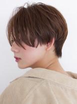 前髪長めの大人ショート☆(髪型ショートヘア)