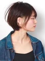 デザインカラー☆オシャレショートボブ