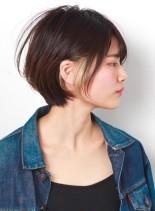 デザインカラー☆オシャレショートボブ(髪型ショートヘア)