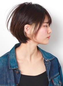 デザインカラー☆オシャレショートボブ(ビューティーナビ)