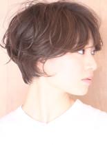 大人可愛いハンサムショートボブ☆(髪型ショートヘア)