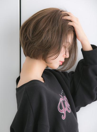 丸みショートボブ(髪型ボブ)