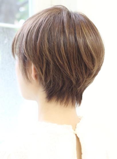 大人女性の似合わせショート(髪型ショートヘア)