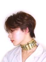 クールジェンダーレスショート(髪型ショートヘア)