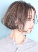 ギリギリ結べる☆外国人風ワンカールボブ(髪型ボブ)
