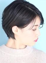 30代*40代大人の好印象ショート☆(髪型ショートヘア)