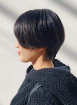 ハンサムショート(髪型ショートヘア)