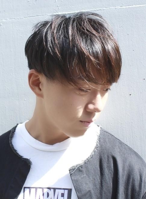 メンズ】2ブロック刈り上げマッシュ/BEAUTRIUM 南青山の髪型