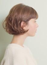 スタイリング簡単エアリーボブ(髪型ボブ)