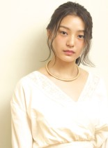 *大人のシンプルアレンジ*(髪型ロング)