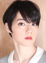 30代*40代大人の小顔美人ショート☆(髪型ベリーショート)
