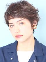 外国人風ニュアンスのベリーショートヘア☆(髪型ベリーショート)