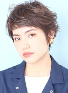 外国人風ニュアンスのベリーショートヘア☆