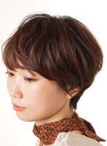 大人ショートスタイル(髪型ショートヘア)