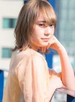 ハイトーンボブ(髪型ボブ)