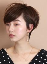 女性らしい☆大人の柔らかいショートヘア(髪型ショートヘア)