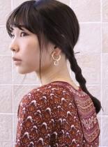 ワンランク上のこなれポニーテール(髪型ロング)