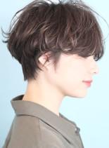 大人のハンサムマッシュショート☆(髪型ショートヘア)