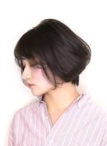 ソフトショートボブ(髪型ボブ)