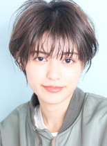 1番人気☆ひし形小顔ショート(髪型ショートヘア)