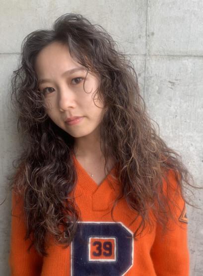 ビーチウェーブ(髪型ロング)