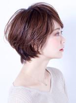 エアリー大人美人ショート(髪型ショートヘア)