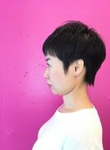 40代・50代のベリーショートスタイル(髪型ベリーショート)