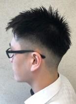 ショート・フェードスタイル(髪型メンズ)