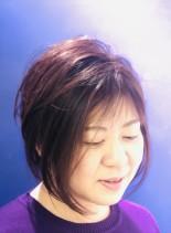 ディスコネクトミディショート(髪型ショートヘア)