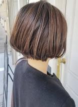 外国人風ショートボブ(髪型ショートヘア)