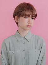 ガーリーショート(髪型ショートヘア)