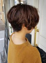ゆるふわショートボブ(髪型ショートヘア)