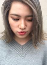 外国人風外ハネボブ(髪型ボブ)
